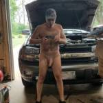 naked car work, helpers always wanted. Are you afraid to get your hands dirty?