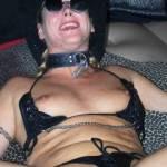 Antonia in leather