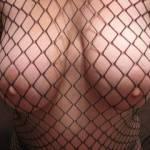 my big boobs in sexy fish net