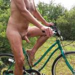 Borrowed a bike and went for a ride naked in a very private area that I found in my Florida travels. Something that I have always wanted to do. How about you? Is that something you would do if there were a place to do it? How would you feel, biking nude?