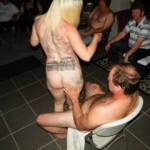 my lap dance strip at swinging party
