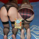 Bottoms Up! The ladies flashing us their bottoms for our appreciation, does it do it for you ?
