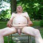 Relaxing naked outdoors...join me!