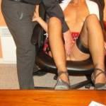 A hot secretary !!!!