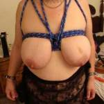 tits tied before we go out