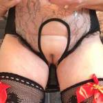 Me having fun with my white vib sooo satisfying  Please join me and enjoy .. yes?....