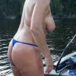Distracting the fishermen.