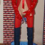 Decorating my pussy for the 4th of July..ha ha