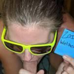 I wear my sunglasses at night😉