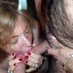 wife carefully n lovingly  servicing other men