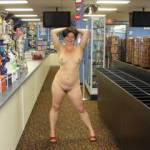 in video store