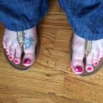 Pretty toes?