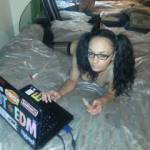 My Lil Nerd!!!! Love her! Isnt she Great!!!!