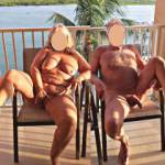 Fun on the balcony