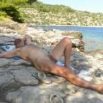 i like to undress on the beach