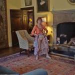 Very risky inside historic property, do you like my posing?
