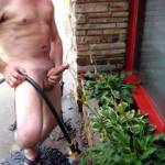 Working with my hose!
