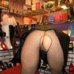 Shopping at an adult toy store