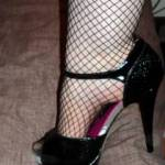 Mrs C - in her come fuck me shoes - what do you think