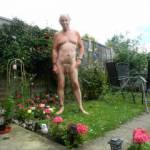 Tony likes to be in the garden