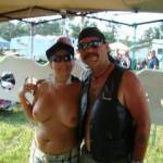 Me and some nice ass boobies at biker rally in Mississippi