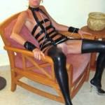 Dressed for the role...being dominated or dominating? hmmm, let me think