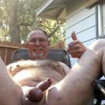 Enjoying outdoors masturbate on a nice day