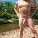 at the river, my favorite place to get naked