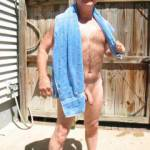 Just got out of the hot tub, needing some towel service among other things.