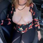 In the car too
