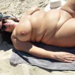 I like being naked on the beach