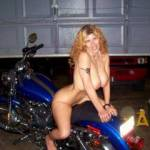 Cleaning the bike and foolin around