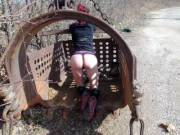 my wife outdoor photo shoot