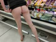 A little fun in the grocerie store.
