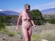nude women in mountain