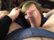 Pulled a raging hard on out of lace panties. Ball sucking got all the juices flowing