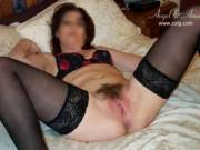 """Again, sooooo """"TURNED ON"""" in my lingerie and I could see how """"EXCITED"""" my husband was...  I couldn't wait to feel is """"COCK DEEP INSIDE OF MY VERY WET CUNT""""!...  Ummmmm!!!"""
