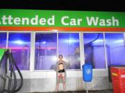 Attended car wash would visit it now