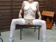 hi  just thought I would spread really wide for you comments please mature couple
