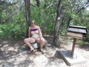 I love to be nude.  So naked at a State Park was just what I wanted to do.  Hubby and I had a lot of fun taking these pics.  He got so turned on he had to fuck me in the woods.