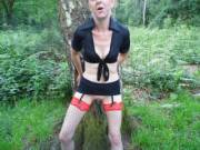 Joanne in a local woods