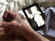 Love to masturbate while looking at Sue's tits and squeeze the jism out of my cock.