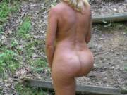 I love getting naked outdoors