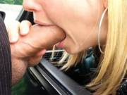 My secretary gets me off at least 5 times a week. Sometimes on busy days we have to be quick. Even if that means parking behind a vacant office building, sticking her head out the car window and letting me fuck her throat.