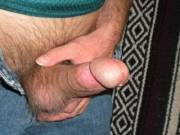 Spending the day looking at hot guys here on the site, and I could not help myself any longer. The pre-cum was flowing before I pulled it out. I had to start jacking right away. Come have a taste of my juices.