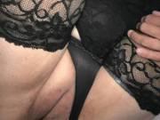Love wearing stockings