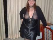 Wife in her Halloween costume