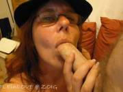 Part1......Having some fun in the chatroom and as a lot of you go mad over my sultry blue eyes we made these vids just for you .....Now look into my eyes and tell me if its your cock you'd like me to be sucking......