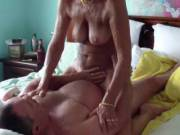 Pt 4 of 4. Fingering, Toys & Fucking. Finally she can't wait any longer, she demands her cock & rides me to another powerful orgasm.