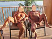 Fun on the balcony